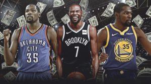 Los contratos de Kevin Durant en la NBA