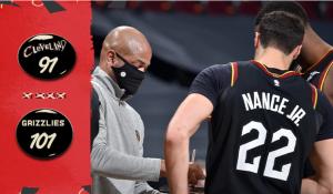 Los Grizzlies llegan tarde al regreso de los Cavaliers